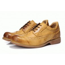 Туфли Timberland Mens Earthkeepers Stormbuck Lite Brogue Leather Yellow Brown