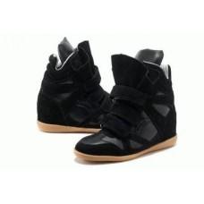 Женские кроссовки Isabel Marant Copy Black (Р-741)