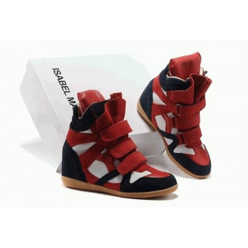 Женские кроссовки Isabel Marant Copy Blue White Red