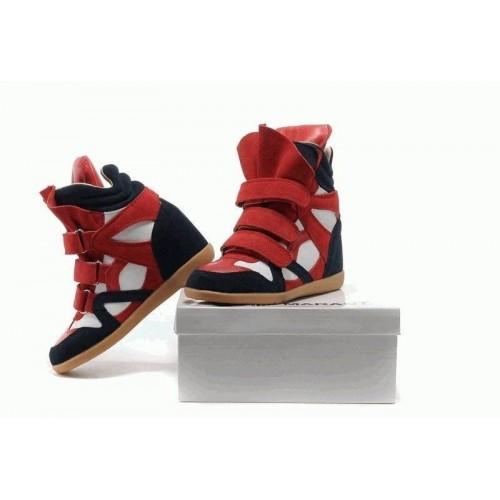 Женские кроссовки Isabel Marant Copy Blue White Red