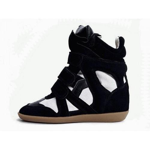Женские кроссовки Isabel Marant Original Black White