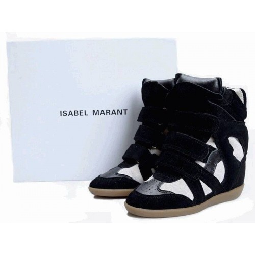 Женские кроссовки Isabel Marant Original Black White