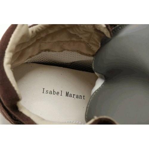 Женские кроссовки Isabel Marant Copy Brown (OV-411)