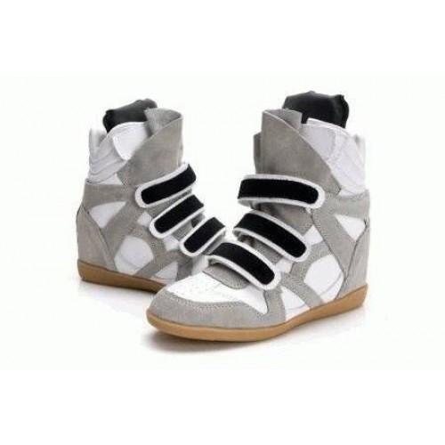 Женские кроссовки Isabel Marant Copy Grey White