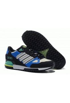 Кроссовки Adidas ZX 750 Серо-синие (О563)