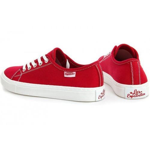 Кеды Las Espadrillas Classic Red 4799-9696