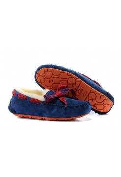 Мокасины UGG Dakota 78 Dark Blue (EО631)