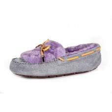 UGG Dakota Fur Grey Purple