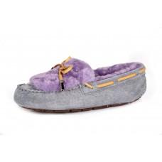 UGG Dakota Fur Grey Purple