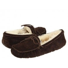 Мокасины UGG Dakota Slipper Chocolate