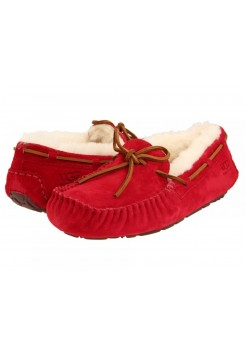 Мокасины UGG Dakota Slipper Red (О-821)