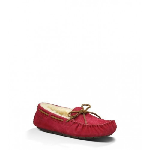 Мокасины UGG Dakota Slipper Red