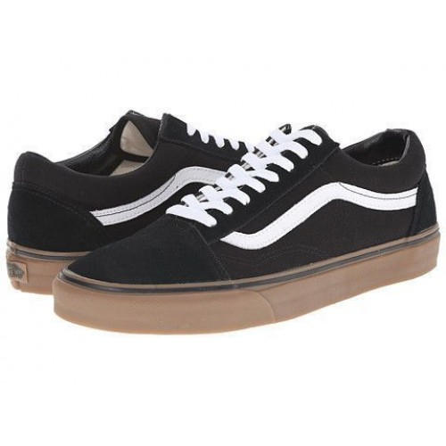 Кеды Vans Old Skool Gum Black-White (WVА004)