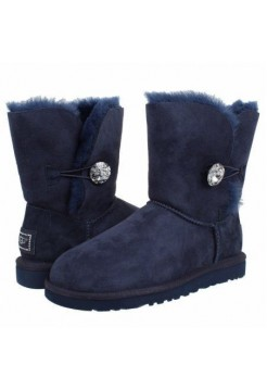 UGG Bailey Button Bling Blue (EO654)