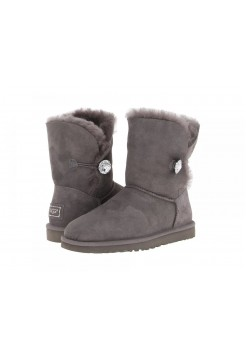 UGG Bailey Button Bling Grey (EО715)