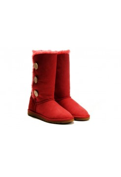 UGG Bailey Button Triplet Red