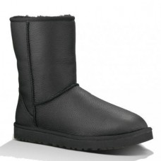 UGG Classic Short Metallic Black Men
