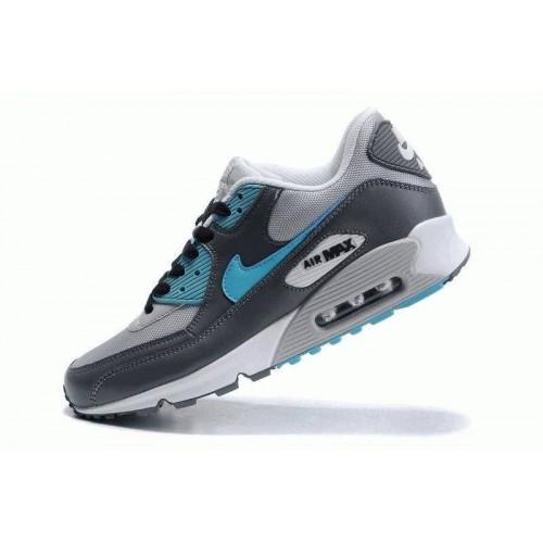 Кроссовки Nike Air Max 90' Серые (О-235)