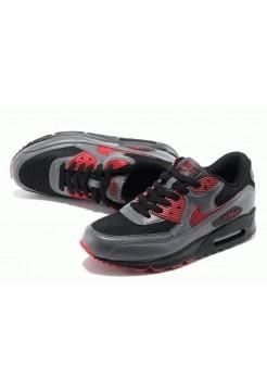 Кроссовки Nike Air Max 90' Черно/серый (О-325)