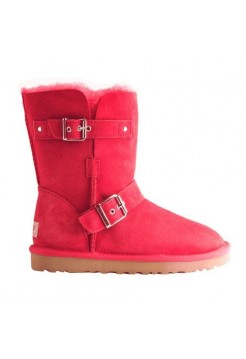 UGG Classic Short Clasp Red (М447)