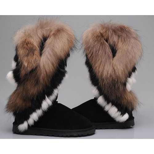 UGG Classic Tall Fox Black (М277)