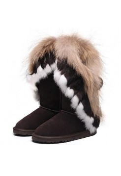 UGG Classic Tall Fox Chokolate Коричневый (М257)