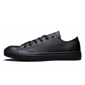 Кеды Converse Chuck Taylor All Stars Low Leather All Black (R-478)