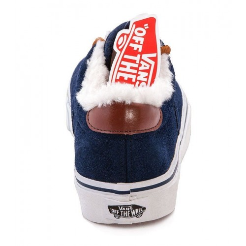 Кеды Vans Chukka Winter Синие низкие (P152)