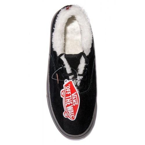 Кеды Vans Chukka Winter Черные низкие (АV132)