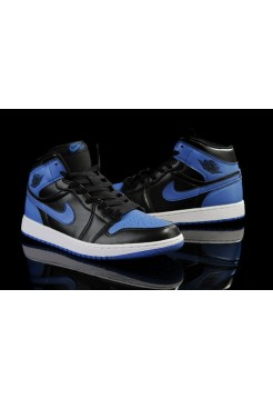 Кроссовки Nike Air Jordan Retro Black/Blue