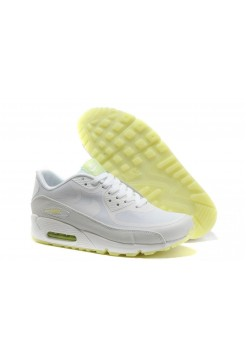 "Кроссовки Nike Air Max 90 ""Glow in the dark"" White (Е-361)"