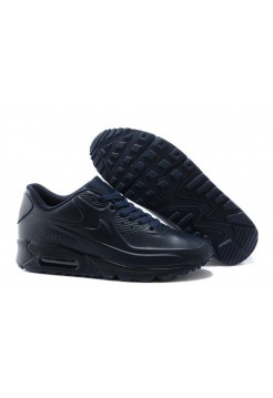 Кроссовки Air Max 90 VT Tweed Dark Blue Leather (О964)