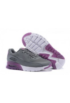 Кроссовки Nike Air Max 90 HyperLite Grey Purple (О-633)