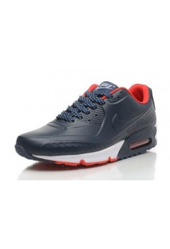 Кроссовки Nike Air Max 90 First Leather Blue Red