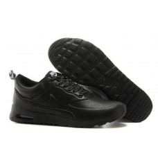 Кроссовки Nike Air Max Thea Leather Black (О-511)