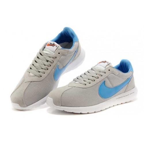 Кроссовки Nike Roshe Run LD Grey Blue (О867)