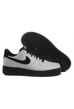 Кроссовки Nike Air Force Low Grey Black (О145)