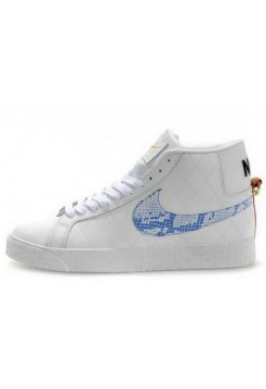 Кроссовки Nike Blazer High White