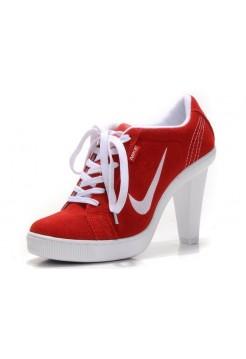 Ботиночки Nike Low Heels Red