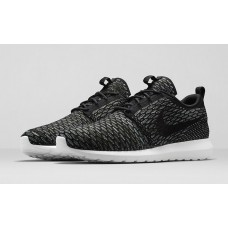 Кроссовки Nike Roshe Run Flyknit London Black (ОРVЕ-514)