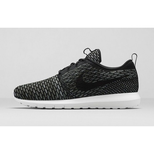 Кроссовки Nike Roshe Run Flyknit London Black (ОРVЕ-514)