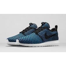 Кроссовки Nike Roshe Run Flyknit London Blue (ОР-524)