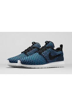 Кроссовки Nike Roshe Run Flyknit London Blue (ОР-524)