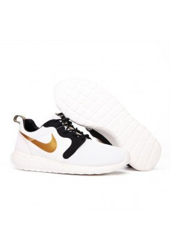 Кроссовки Nike Roshe Run Flyknit Gold Trophy (РА524)