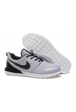 Кроссовки Nike Roshe Run Grey Heather Oreo (Р-374)
