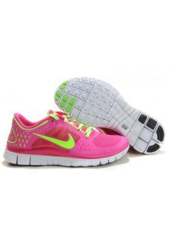 Кроссовки Nike Free Run 3 Розовые (РЕ-178)