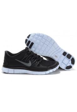 Кроссовки Nike Free Run 5 Черные (О-128)