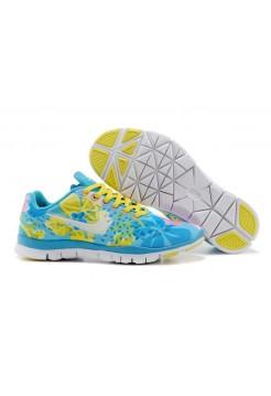Кроссовки Nike Free Run 5 Цветные (Р128)