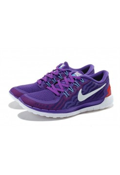 Кроссовки Nike Free Run 5 Фиолетовые (Р128)