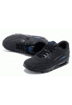 Кроссовки Nike Air Max 90' Black (О-621)